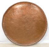 Large Copper Circular Charger